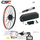 Ebike Conversion Kit Electric Bicycle MTB Wheel 700C 36V 250W Pedal With Battery