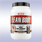 LABRADA LEAN BODY MEAL REPLACEMENT SHAKE (2.5 LB) protein powder jug muscle mass