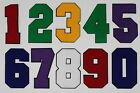 Large 8 Inch Chenille Numbers: Pick Your # / Color