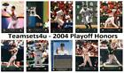 2004 Playoff Honors Baseball Set ** Pick Your Team ** Checklist in Description on Ebay