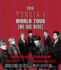 [MONSTA X] 2019 WORLD TOUR CONCERT ITEM + TRACKING NUMBER + GIFT