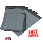 Strong Grey Mailing Bags cheap Large Medium Small Plastic Postal Parcel Bags UK