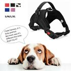 Pet Dog Harness Strap No Pull Adjustable Breathable Comfortable S/M/L/XL Walking