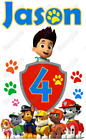 Kyпить Paw Patrol  Birthday Personalized  T Shirt Iron on Transfer #41 на еВаy.соm
