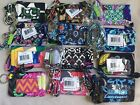 NWT Vera Bradley Lanyard and Zip ID Case in Retired Multi-Colors Set Combo