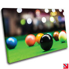 Snooker Sports Pool CANVAS Wall Art Picture Print £37.99 GBP on eBay