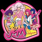 Jem and the Holograms cartoon t-shirt graphic tee image