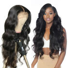 Lace Front Human Hair Wigs Virgin Body Wave Brazilian Pre plucked with Baby Hair