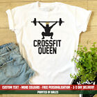 Ladies Cross Fit Queen T Shirt Cool Personal Trainer Weights Exercise Gift Top