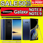 Samsung Galaxy Note 9 Note 8 N960 N950 512gb 128gb Unlocked 4g Lte Au Warranty