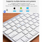 Wireless Bluetooth V3.0 Slim Keyboard for PC iOS iPads Android Macs NEW USA STOC
