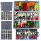 226/Set Metal Mixed Spinner Fishing Lure Pike-Salmon Baits Bass Trout Fish Hooks