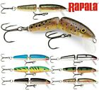 Rapala JOINTED Fishing Lures Predator Tackle Lure Pike Perch Various Colours Rap