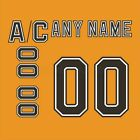 Boston Bruins 2000-2006 3rd Jersey Customized Number Kit un-stitched $34.99 USD on eBay