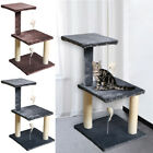 Kitten Cat Tree Scratch Post Sisal Toy Activity Centre Cats Tree with Spring Toy