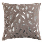 Throw Pillow Covers Geometric Jacquard Chenille Faux Fur Sofa Couch Cushion Case