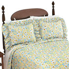 Daisy Plisse Ruffle 2 Piece Pillow Sham Set image