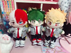 My Hero Academia Midoriya Izuku Bakugou 20cm Doll Clothes Plush Stuffed Toys N