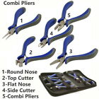 Small Pliers Beading Jewellery Hobby Making Tools Kit Set Round Nose Flat Cutter