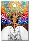 Poster Psychedelic Trippy Colorful Ttrippy Surreal Abstract Astral Art Print 89
