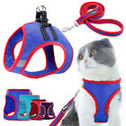 Small Dog Harness and Lead Mesh Breathable Pet Cat Walking Vest for Chihuahua