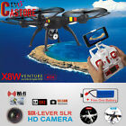 2.4G Syma X8W Wifi FPV RC Quadcopter Real-Time Headless HD Camera + 2 Battery