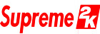 Supreme2k 1 in to 3 in tall Vinyl Decal Car Window Laptop Sticker