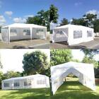 Outdoor Canopy Party Wedding Tent Heavy Duty Garden Gazebo Pavilion Cater Events