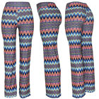 Womens Wide Leg Palazzo Pant, High Waist Stretch Loose Hippie Gypsy Yoga, Dance