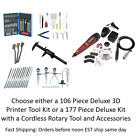 Kyпить 3D Printing Deluxe Cleaning & Printer Accessory Tool Kit : Needles Knives Pliers на еВаy.соm