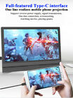 """Portable 12.5"""" IPS HDMI Monitor Touch Screen for Mobile Phone Camera Xbox Gaming"""