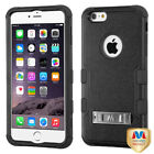 Hybrid Impact Case +Silicone TUFF Cover +Stand for iPhone 6 Plus 6S Plus