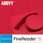 ABBYY FineReader PDF 15, 14 or Pro - Standard or Corporate (Key - Serial Number)