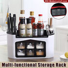 Multi-functional Kitchen Shelf Seasoning Container Spice Rack Storage Container