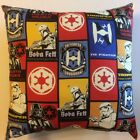 NEW 15 x 15 STAR WARS OLD AND NEW MOVIES ON COMPLETE THROW PILLOWS - MANY STYLES $25.89 USD on eBay