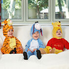 Disney Baby Childs Licensed Character Toddler Plush Jumpsuit Fancy Dress Costume