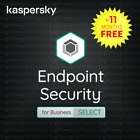 Kaspersky Endpoint Security Business SELECT - 1 year for 10 to 50 devices