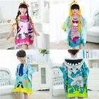 Kids Beach Cartoon Hooded Towel Swimming Pool Poncho Hoodie For Boys Girls G