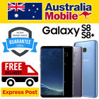 Samsung Galaxy S8 Plus + S8 Sm950/955 As New Unlocked 4g Lte Android Smartphone