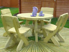 Wooden Garden Furniture Set, High Quality, Durable 10year Anti Rot Guarentee ✔