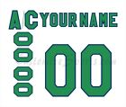 Hartford Whalers Customized Number Kit for 1988 1992 White Jersey