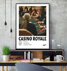 James Bond Casino Royale (2006) Minimalist Movie Film Gloss Poster Print HD A3 £7.5 GBP on eBay