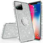 Luxury Bling Diamond Ring Holder Stand Case Cover For iPhone11 Pro XR 7 8 Plus