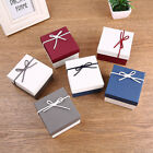 jewelry ring earring bangle necklace watch cute gift box square carton case image