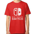 Nintendo Switch t shirt Red and White T Shirts Available!