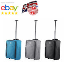 'Small Wheeled Suitcase Travel Cabin Bag Carry On Soft Case Hand Luggage Trolley