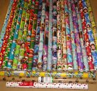 HARD TO FIND GIFT WRAP WRAPPING PAPER ROLLS NEW $12.99 USD on eBay