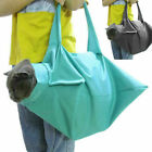 Cat Pet Carrier Pouch Out Travel Backpack Blue & Black A0H1
