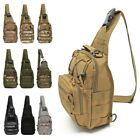 Outdoor Shoulder Tactical Backpack Travel Camping Hiking Trekking Chest Pack Bag