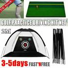 Out/Indoor Professional 2M Golf Practice Driving Hit Net Cage Training